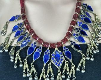 Royal Dewdrop Neckpiece; Silver