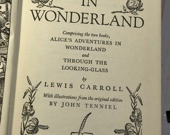 "Alice in Wonderland ""Great Books for Children"" 1957 by Lewis Carroll"