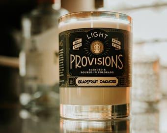 12 oz Grapefruit Oakmoss candle