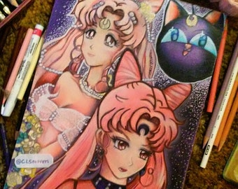 SUPER SALE 9x12 Rini\Wicked Lady (Print)