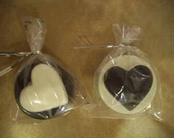 Chocolate Covered Cookies (sandwich cremes) 2 Tone Colors Available
