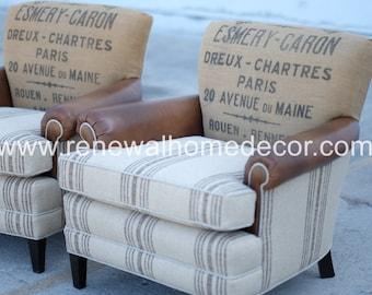 custom club chairs. Custom Order - Upholstered Club Chairs \ A