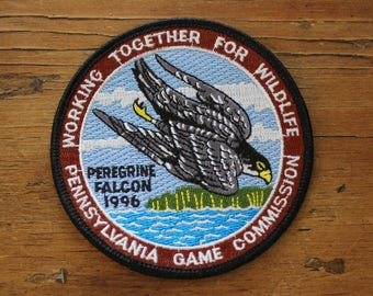 Working Together For WIldlife Vintage Patch