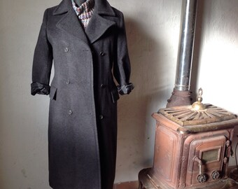 Made in Italy   Vintage Coat   Wool Coat   Small coat   Vintage Wool Coat   90s Coat   Florentine Coat   Double Breast Coat  