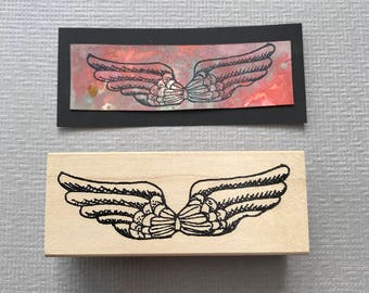 Wingsl Rubber Stamp