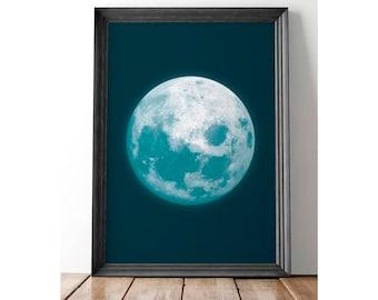 Blue Moon Gallery print