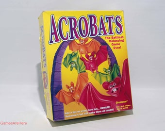 Acrobats Balancing Game from Pressman 1995 COMPLETE