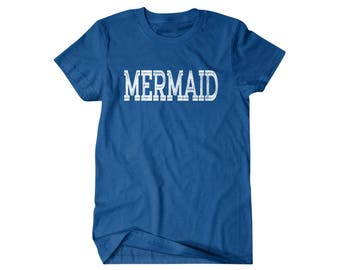 Mermaid Shirt, Mermaid Gift, gift for him, and her, hilarious tees