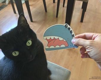 AH! Goch the Whale Sticker