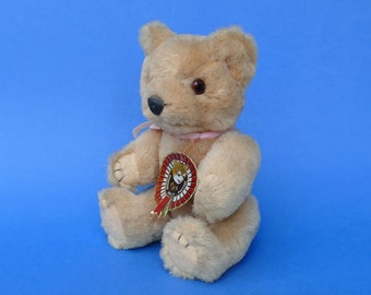 Shanghai Dolls Factory TEDDY BEAR - Vintage Collectable Character BEAR - Vintage Teddy Bear 1970s 1980s