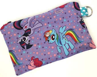 Spoonie Bag (My Little Pony) - portable self-care kit for grounding when overstimulated or triggered.
