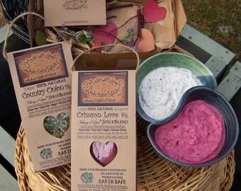 Simply the Best Organic Dip Mix Crimson Love Garlic Dip & Country Onion Dip Mix! Summertime Dip Mix Organic Dip Mix Party Dip BBQ Grill Rub