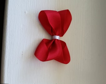 Red Baby Bow