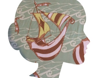 SAIL Lucy and Mabs Reusable pad or pantyliner / Made to Order