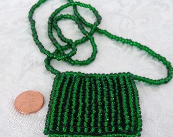 Beaded Amulet Bag