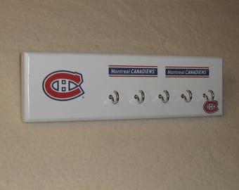 Montreal Canadien's key rack