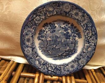 Liberty Blue plate