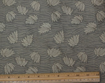 "Sage Floral Dupioni Jacquard 100% Silk Fabric 54"" Wide, By the Yard (JD-338)"