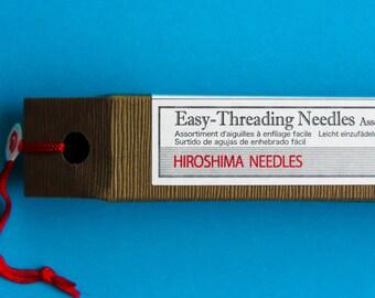 Tulip Easy Threading Needle, hand sewing, embroidery needle, cross stitch needle, needlepoint, needle storage, sharp needle, large eye