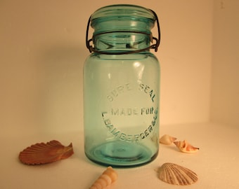 Sure Seal Made For  L. Bamberger & Co. (fruit Jar)