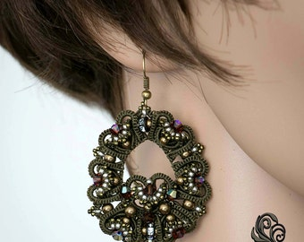 tutorial earrings Sommerfest