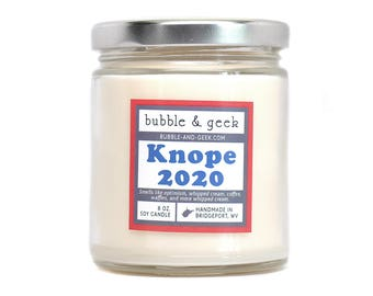 Knope 2020 Scented Soy Candle Jar