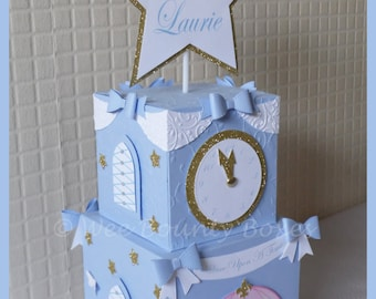Princess Cinderella Inspired Carriage & Clock Tower Table Decorations