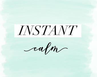 Instant Calm for Busy People | Guided Meditation | Audio download
