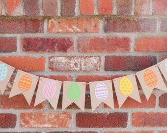 Easter Egg Banner, Easter Garland