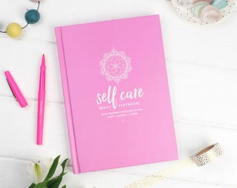 Self Care Daily Playbook, mindfulness journal, self care book, self love, spiritual, self help, holistic, intuition, manifesting, happiness