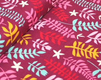 Liz Scott Fabric, Domestic Bliss by Liz Scott for Moda Fabrics, 18074-11 Out of Doors Eggplant