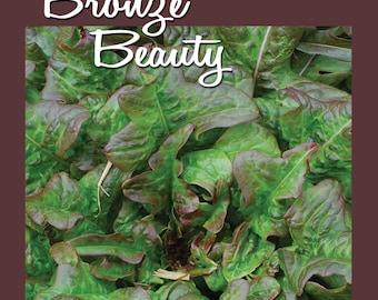 Bronze Beauty Looseleaf Lettuce Seed 1,000 ct Packet