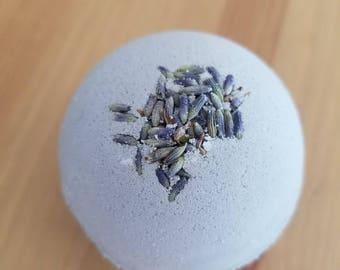 Lavender Bathe Bomb, natural, relaxing, bath fizzy, tub, bath