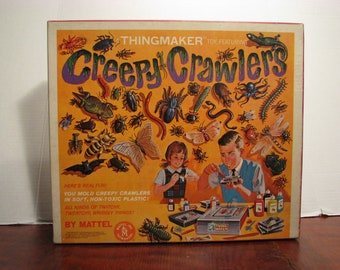 Vintage Creepy Crawlers, A Thing Maker Toy, by MATTEL, in its original Box