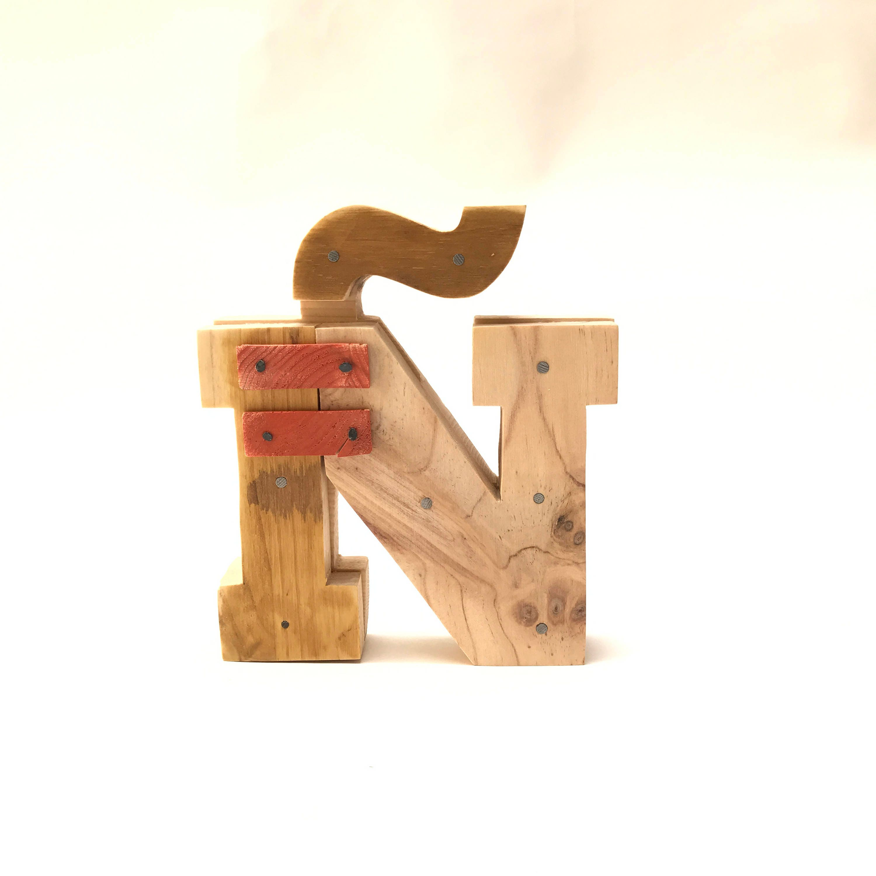 Industrial Letters Wall Hanging Wooden Letters Ñindustrial Letterswall Hanging