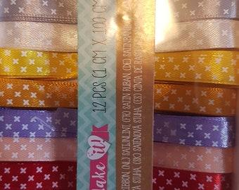 fancy satin ribbons