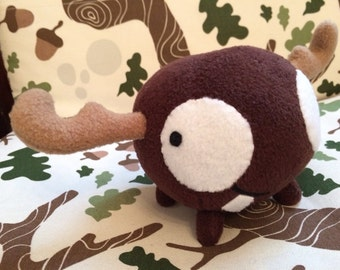 Invader Zim Mini Moose plush (MADE TO ORDER)