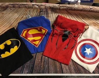 BAM! Pow! Super Heroes!!! Batman, Superman(girl), Captain America and Spiderman! Any super hero you want!