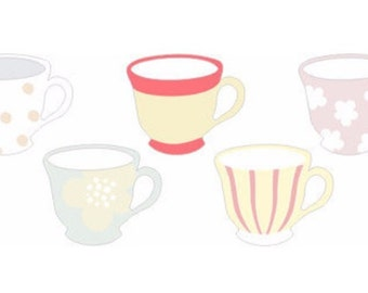 Teacup Sticky Notes / Memo / Post-it