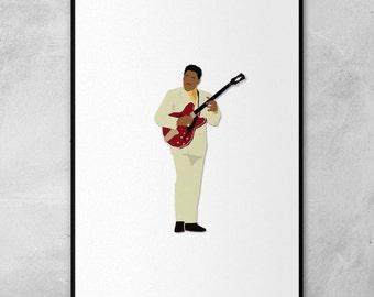 B.B. King | Minimal Artwork Poster