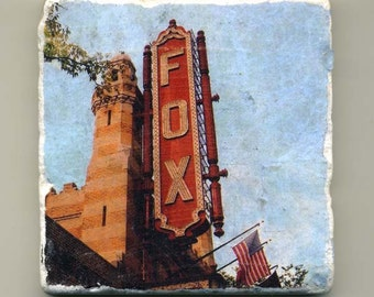 Fox Theater in Atlanta - Original Coaster