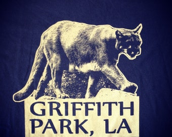 Griffith Park Mountain Lion P 22 Los Angeles California