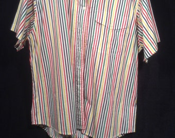 """Vintage 80s """"Hot Dog Stand"""" Blouse"""