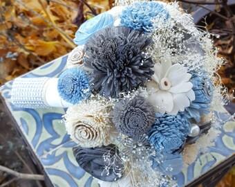 Wood Bouquet, Wooden Flower, Sola Flower Bouquet, Eco friendly flower, Custom Bouquet, Rustic Bouquet, Wood flower, Sola wood