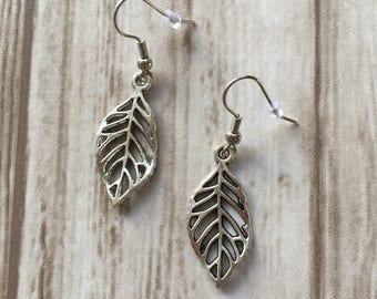 Minimalist / leaves / earrings / gift / mothersday | Minimalistic Leaves earrings