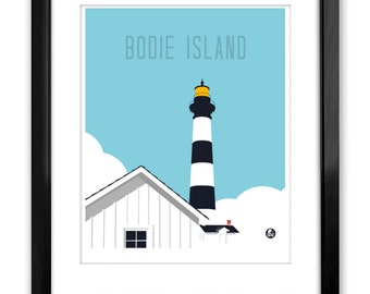 Bodie Island Light Station, Outer Banks, NC, Poster