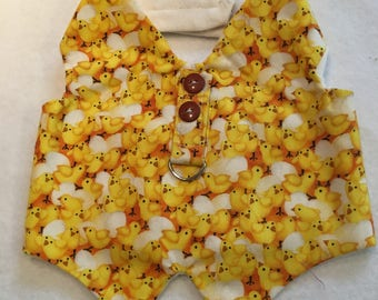 Yellow Chick Dog Vest/Harness