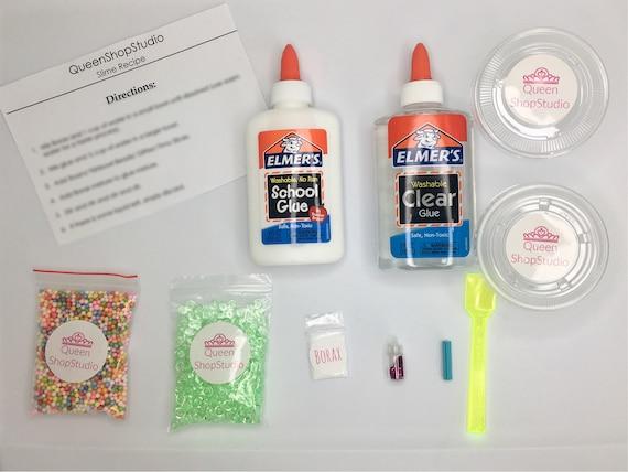 Diy slime kit slime kit slime package make your own solutioingenieria Images