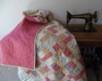 Lucky 7's - A Large Lap Sized Fat Quarter Quilt Pattern