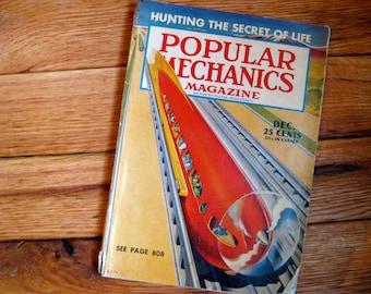 Popular Mechanics Magazine. December 1940.